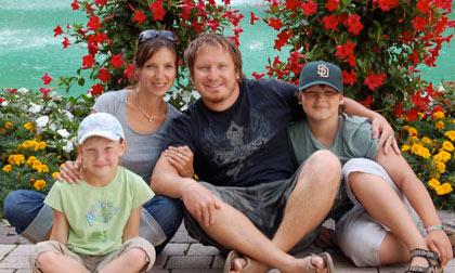 Pasha, Lena Baravov & Family