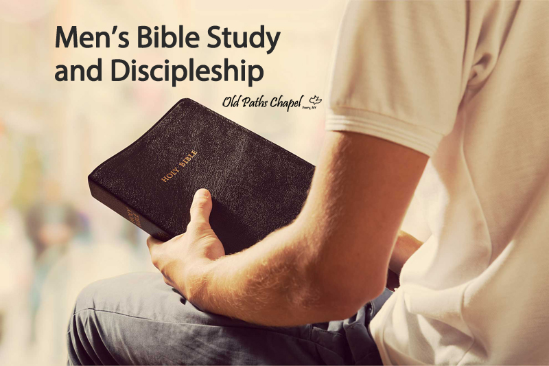 mens bible study and discipleship